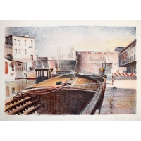 Barcone in Venedig