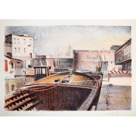 Barcone in Venezia