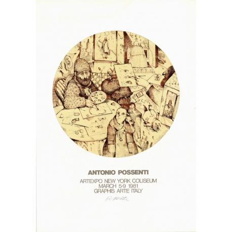 ARTEXPO-tentoonstellingsaffiche