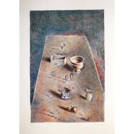 Stilleben Tisch von Mario Madiai