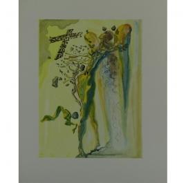 Glowing Figures - Salvador Dali