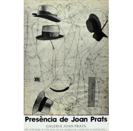 Presentie van Joan Prats Poster