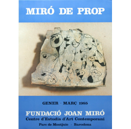 Miró de Prop Poster