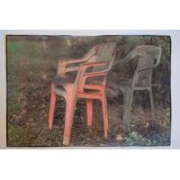 Plastic stoelen