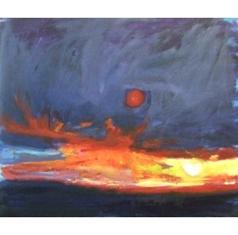 Sunset at Hooksiel (North Sea)