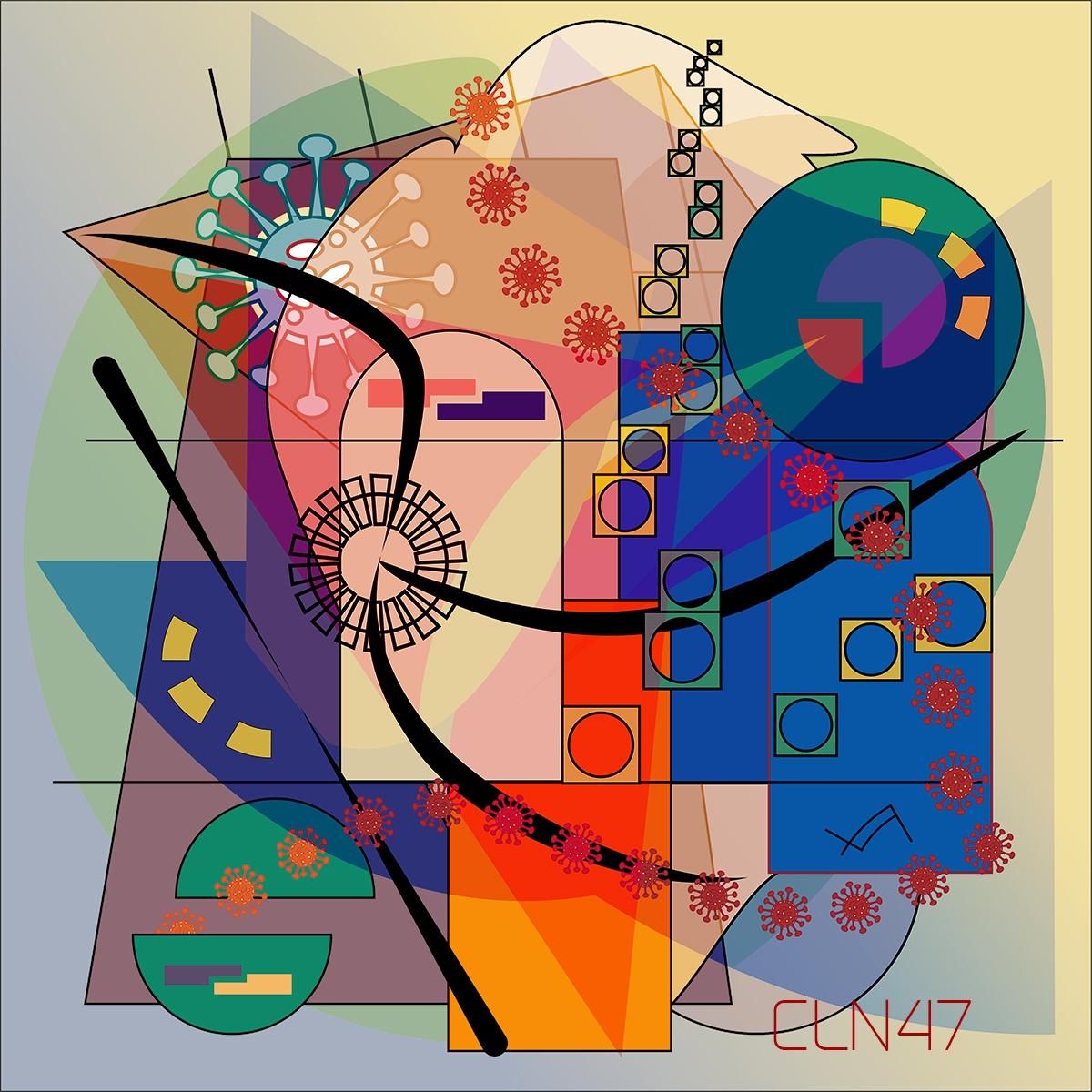Clemens Niewöhner Corona Covid Themed Art - Pandora's box