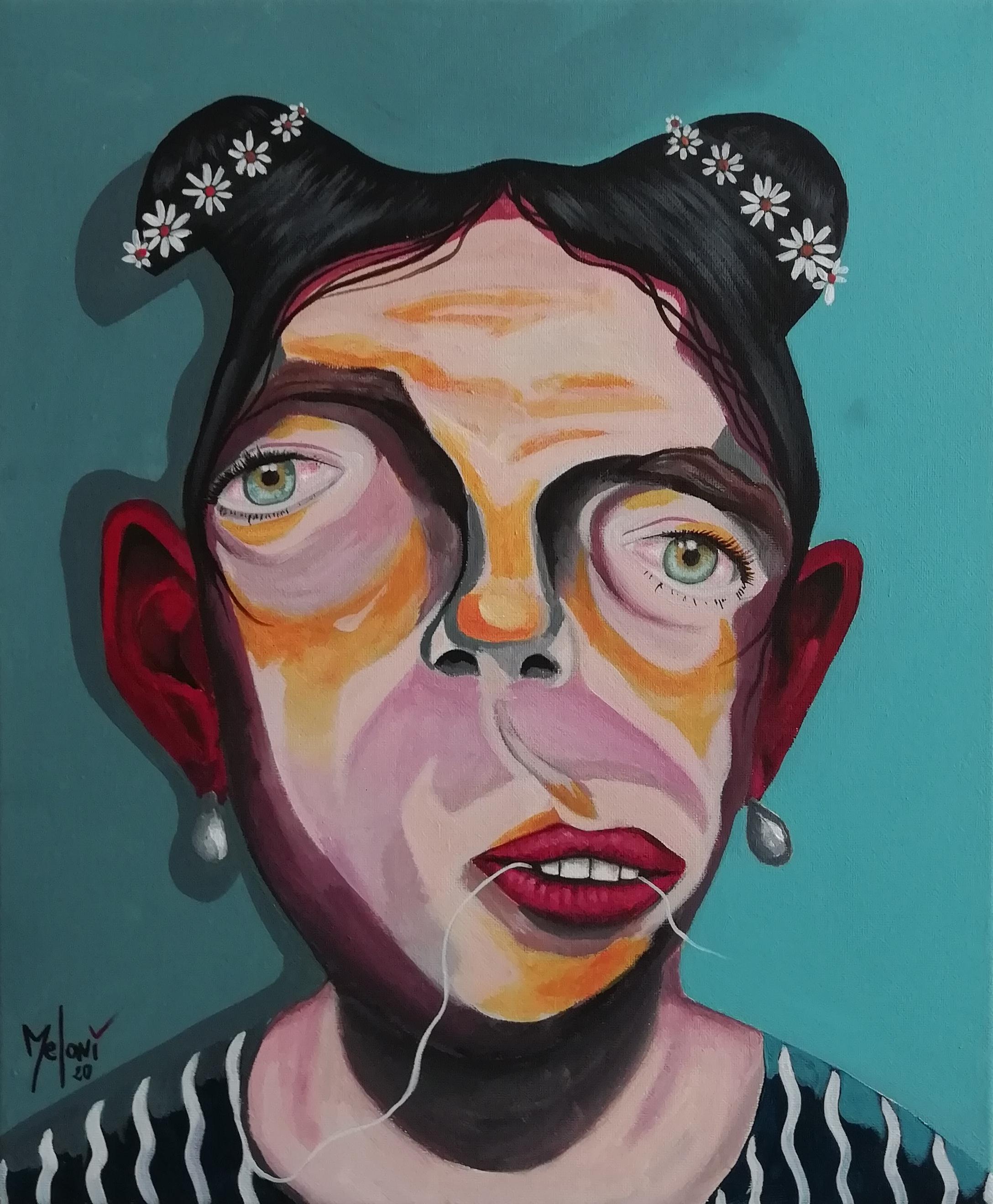 Franco Meloni Corona Covid Lockdown Virus Themed Art