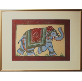 Elephant, silk edition