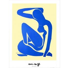 Blau Nackt