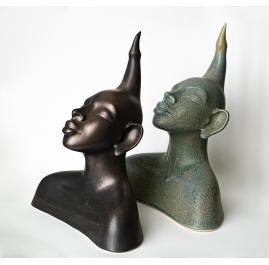 Keramische sculpturen (3 werken)