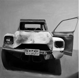 Old car in Iran