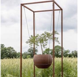 Outdoor Cuboid for floating pots - Cuboid Large - Unique Garden Ornament