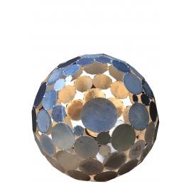 "Buitenlamp - ""Globe"" - Gegalvaniseerd - ART - tuindecoratie - 55cm"