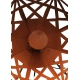 "Outdoor Lamp - ""Umbrella"" (Beta) - Rusty - ART - garden decoration - 70cm"