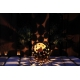 "Outdoor Lamp - ""Globe"" - Iron Oxide - ART - Garden Decoration"