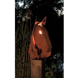 """Outdoor tuinfakkel - """"Paard"""" - hedendaagse sculptuur"""