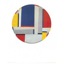 Relational Painting Tondo Nr. 43