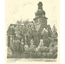 Radewig church