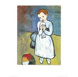 Kind met duif