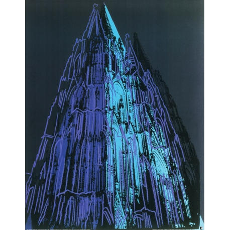 Cologne Cathedral (blue)