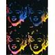 Four multicoloured Marylins
