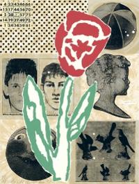 Flower artwork by Donald Baechler